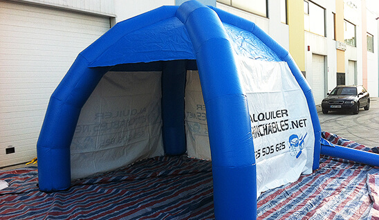 foto carpa inflable